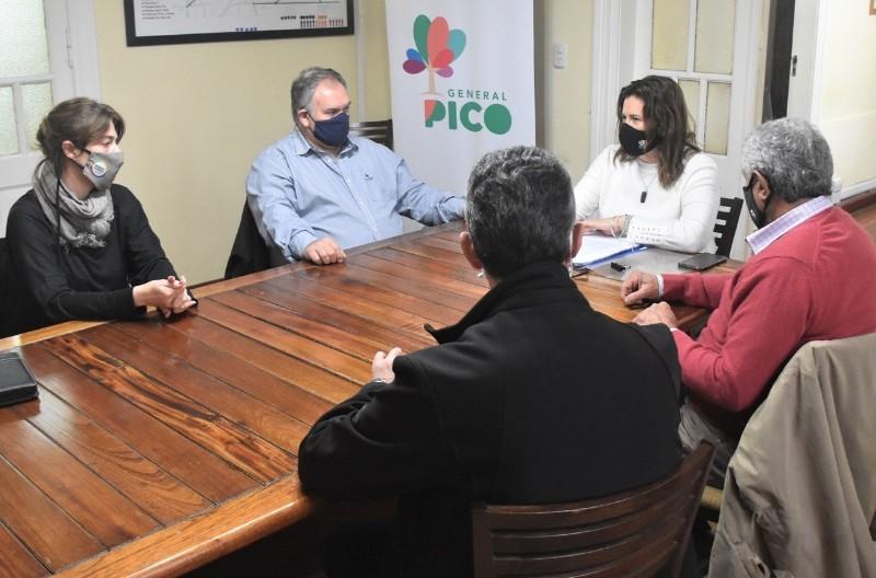 Avanza Mercado Común del Norte: el intendente Cein estuvo en General Pico