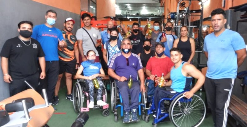 Concentración: Pablo Aznarez en el seleccionado argentino de atletismo adaptado