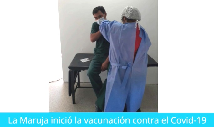 La Maruja inició la vacunación contra el Covid-19