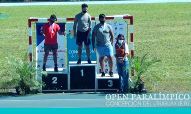 Pablo Aznarez consigue medalla de oro en el Open Paralímpico de Atletismo